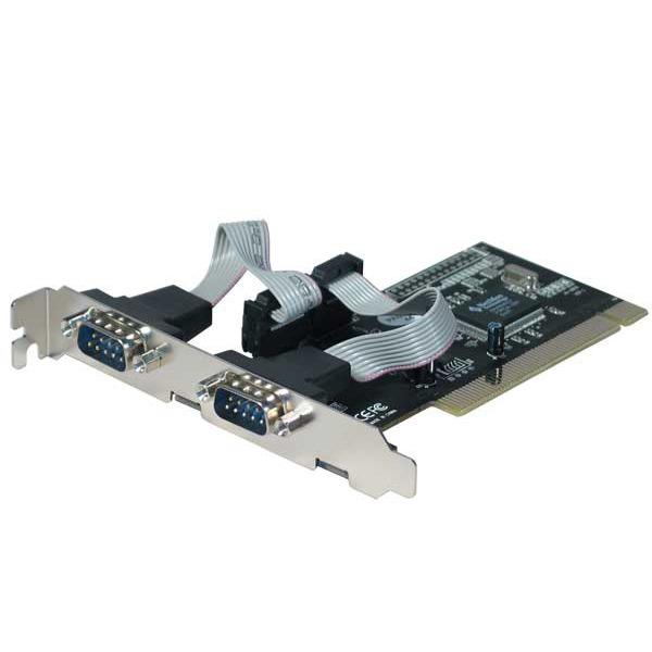 Carte contrôleur Carte contrôleur PCI avec 2 ports RS-232 (DB-9) Carte contrôleur PCI avec 2 ports RS-232 (DB-9)