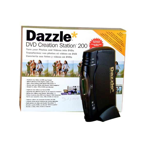 Dazzle dvd creation station 200