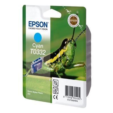 Cartouche imprimante Epson T0332 Epson T0332 - Cartouche d'encre cyan