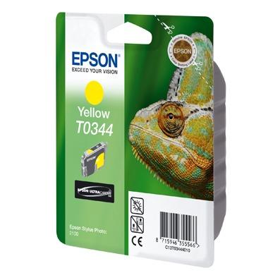Cartouche imprimante Epson T0344 Epson T0344 - Cartouche d'encre jaune