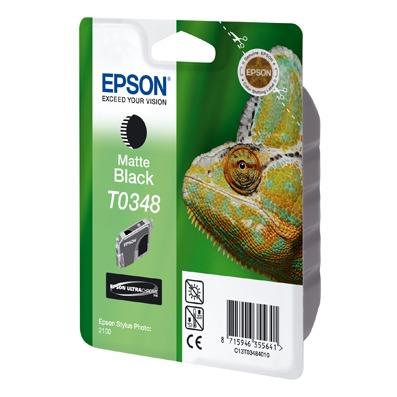 Cartouche imprimante Epson T0348 Epson T0348 - Cartouche d'encre noire mate