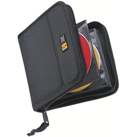 Pochette CD / DVD Case Logic CDW-16 Etui de rangement pour 16 CD/DVD/BD