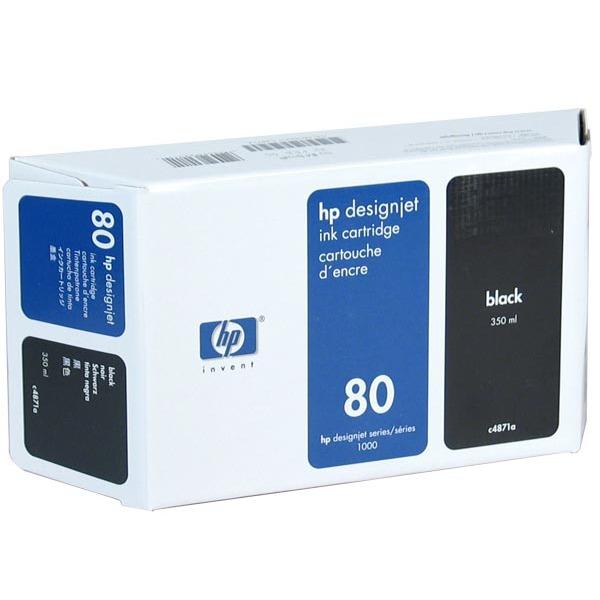 Cartouche imprimante HP C4871A - Noir 350ml (n° 80) HP C4871A - Noir 350ml (n° 80)