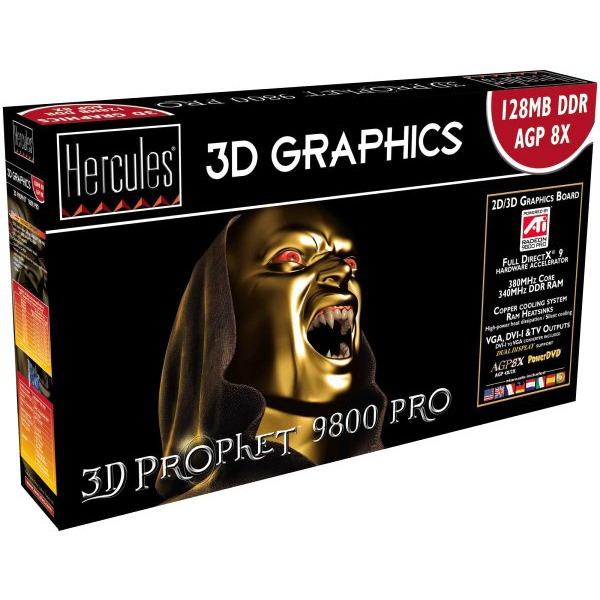 Carte graphique Hercules 3D Prophet 9800 Pro 128 Mo Hercules 3D Prophet 9800 Pro 128 Mo