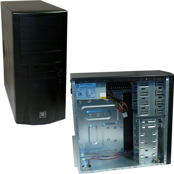 Boîtier PC Neo Boitier Noir 300w Neo Boitier Noir 300w
