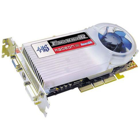 Carte graphique HIS Excalibur Radeon 9800 PRO IceQ HIS Excalibur Radeon 9800 PRO IceQ 256 bits 128 Mo DVI/TV-Out - AGP (ATI Radeon 9800 Pro)