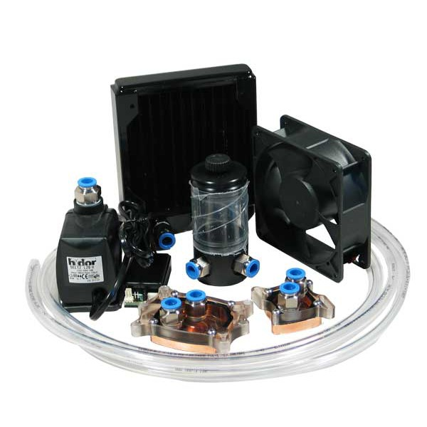 Watercooling Waterchill - Kit KT15 Complet Pour CPU/CHIPSET Waterchill - Kit KT15 Complet Pour CPU/CHIPSET