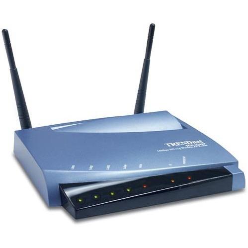 Modem & routeur TRENDnet TEW-411BRP - Routeur/Point d'accès sans fil 802.11g/Switch 4 ports TRENDnet TEW-411BRP - Routeur/Point d'accès sans fil 802.11g/Switch 4 ports