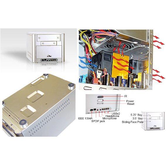 Barebone PC Biostar iDEQ 200N (NVIDIA NFORCE2 IGP + MCP-T) Biostar iDEQ 200N (NVIDIA NFORCE2 IGP + MCP-T)