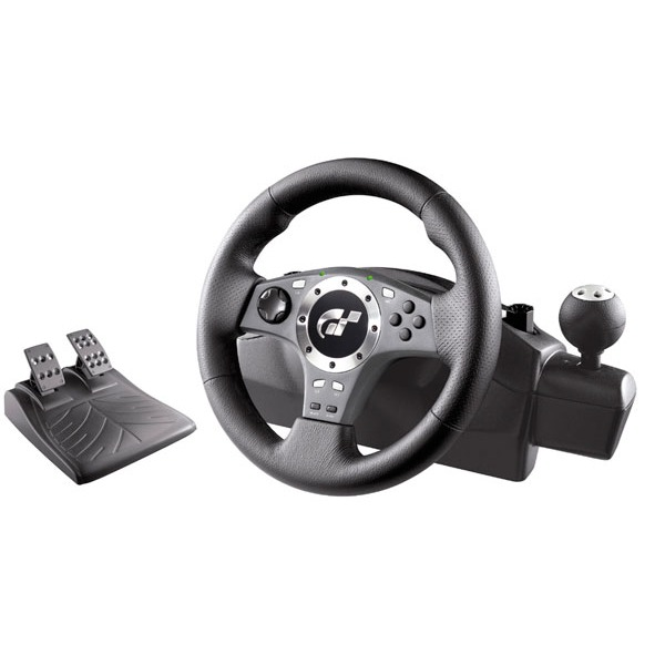 Volant PC Logitech Driving Force Pro (pour PlayStation 2) Logitech Driving Force Pro (pour PlayStation 2)