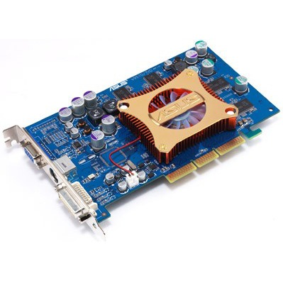 Carte graphique ASUS V9570/TD 256 Mo TV/DVI  (NVIDIA GeForce FX5700) ASUS V9570/TD 256 Mo TV/DVI  (NVIDIA GeForce FX5700)