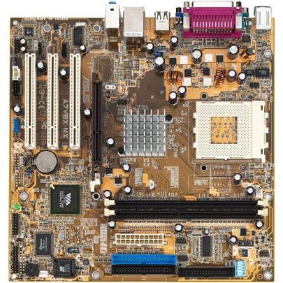 Carte mère ASUS A7V8X-MX (VIA KM400) ASUS A7V8X-MX (VIA KM400)