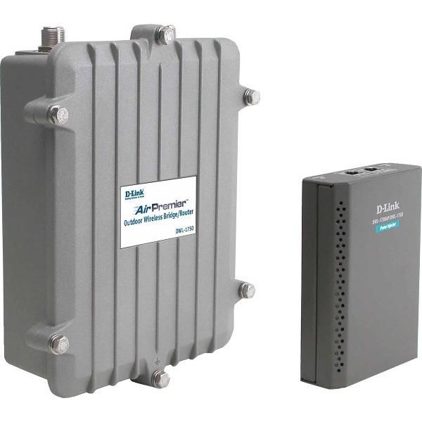 Point d'accès WiFi D-Link DWL-1750 - Pont/Routeur sans fil Extérieur 802.11B D-Link DWL-1750 - Pont/Routeur sans fil Extérieur 802.11B