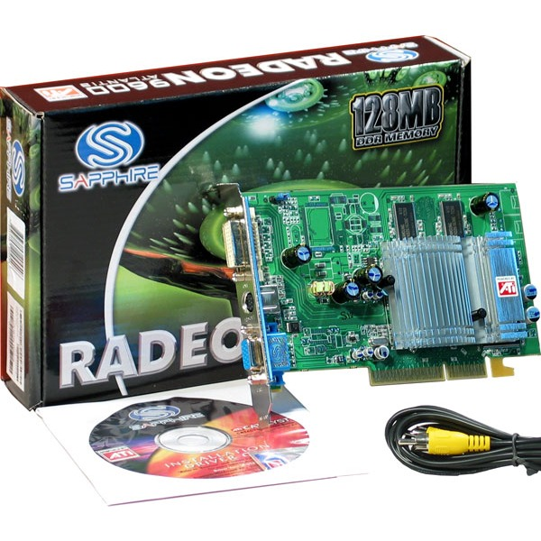 Carte graphique Sapphire Atlantis Radeon 9600 128 Mo DVI/TV-Out (lite retail) Sapphire Atlantis Radeon 9600 128 Mo DVI/TV-Out (lite retail)