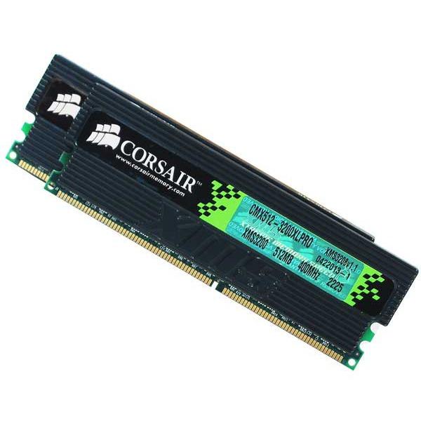 Mémoire PC Corsair TWINX1024-3200XLPRO - TwinX 2x512 Mo DDR-SDRAM PC3200 X-Treme Low Latency (avec LEDs) Corsair TWINX1024-3200XLPRO - TwinX 2x512 Mo DDR-SDRAM PC3200 X-Treme Low Latency (avec LEDs)