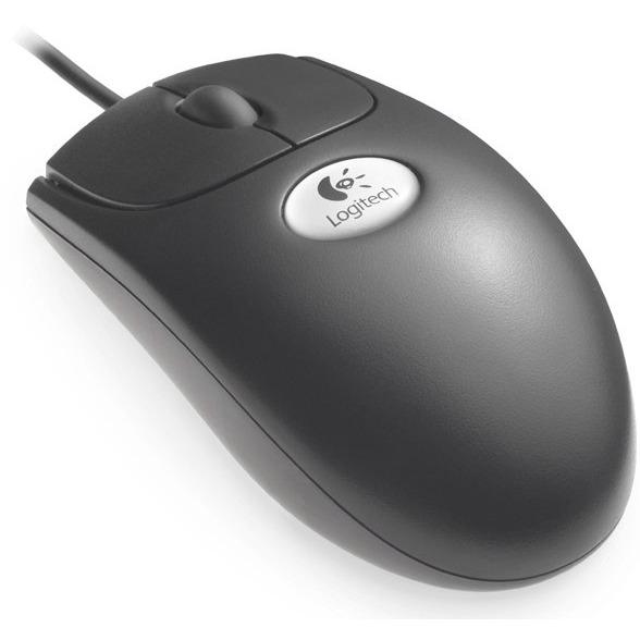 Souris PC Logitech Premium Optical Wheel Mouse Logitech Premium Optical Wheel Mouse Black (PS2+USB)
