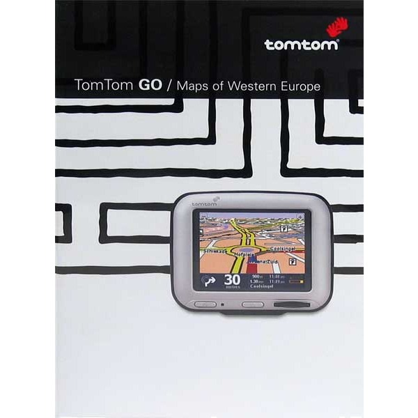 GPS TomTom Cartes d'Europe occidentale (pour TomTom GO) TomTom Cartes d'Europe occidentale (pour TomTom GO)