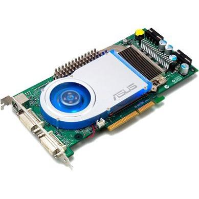 Carte graphique ASUS V9999 Ultra Deluxe - 256 Mo DDR3 DVI/TV-Out (NVIDIA GeForce 6800 Ultra) ASUS V9999 Ultra Deluxe - 256 Mo DDR3 DVI/TV-Out (NVIDIA GeForce 6800 Ultra)