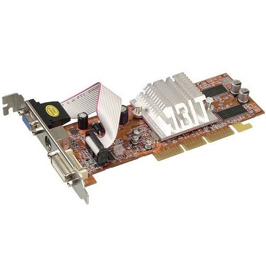 Carte graphique ABIT R9200SE-DT - 128 Mo TV-Out/DVI (ATI Radeon 9200SE) ABIT R9200SE-DT - 128 Mo TV-Out/DVI (ATI Radeon 9200SE)