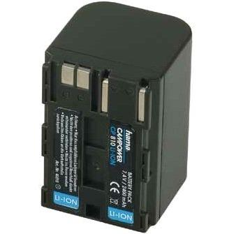 Batterie caméscope HAMA CP-810 - Accu 7.4V 2400 mAh (équivalent BP-522) HAMA CP-810 - Accu 7.4V 2400 mAh (équivalent BP-522)