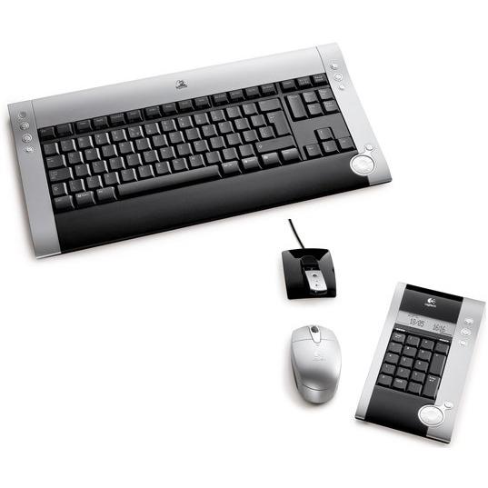 Pack clavier souris Logitech diNovo Cordless Desktop for Notebooks Logitech diNovo Cordless Desktop for Notebooks (AZERTY Français)
