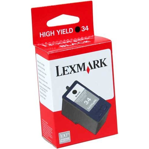 Cartouche imprimante Lexmark cartouche n°34 (Noir) Lexmark cartouche n°34 (Noir)