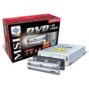 Lecteur graveur MSI DR8P - DVD(+/-)RW 8/4/8/4x CD-RW 40/24/48x IDE (3 façades fournies) MSI DR8P - DVD(+/-)RW 8/4/8/4x CD-RW 40/24/48x IDE (3 façades fournies)