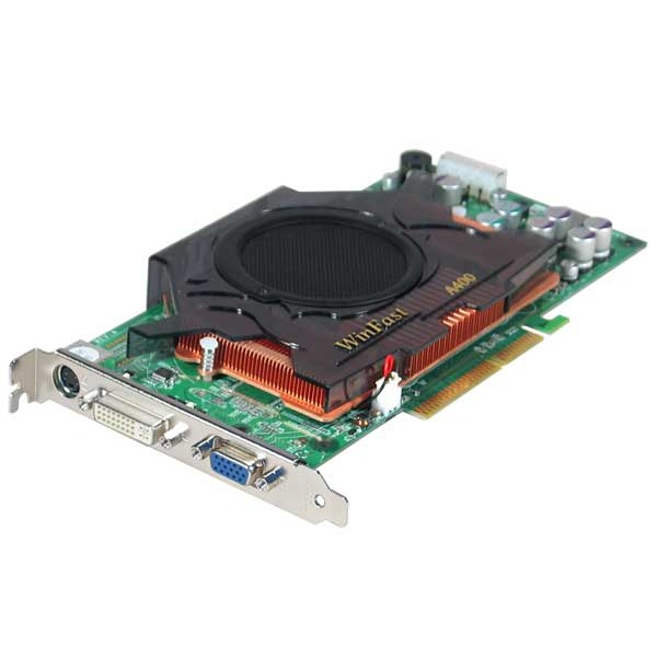 Carte graphique Leadtek WinFast A400 LE TDH Leadtek WinFast A400 LE TDH - 128 Mo TV-Out/DVI (NVIDIA GeForce 6800 LE)