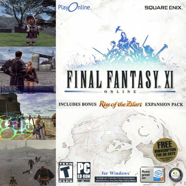 Jeux PC Final Fantasy XI - Online (PC) Final Fantasy XI - Online (PC)