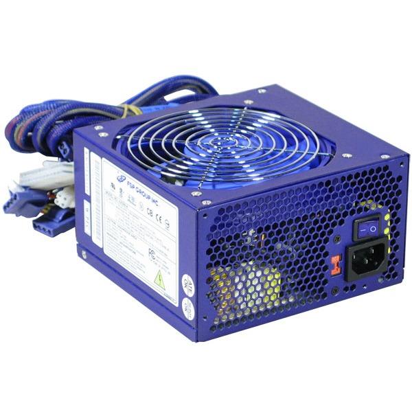Alimentation PC Fortron Blue Storm - Alimentation 500W ATX12V v2.0 Fortron Blue Storm - Alimentation 500W ATX12V v2.0