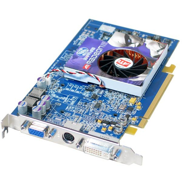 Carte graphique SAPPHIRE RADEON X800 XL - 256 Mo TV-Out/DVI - PCI Express (ATI Radeon X800 XL) SAPPHIRE RADEON X800 XL - 256 Mo TV-Out/DVI - PCI Express (ATI Radeon X800 XL)