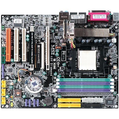 Carte mère MSI K8N Diamond  MSI K8N Diamond (NVIDIA nForce4 SLI) - ATX