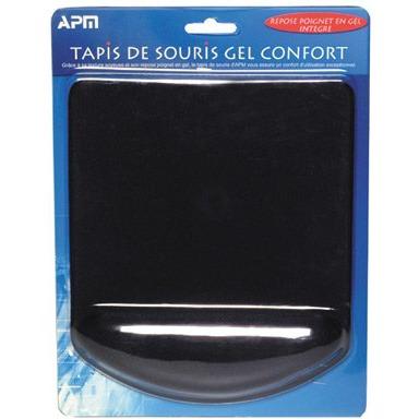 Tapis de souris APM Tapis de souris Gel Confort (avec repose poignet intégré) APM Tapis de souris Gel Confort (avec repose poignet intégré)