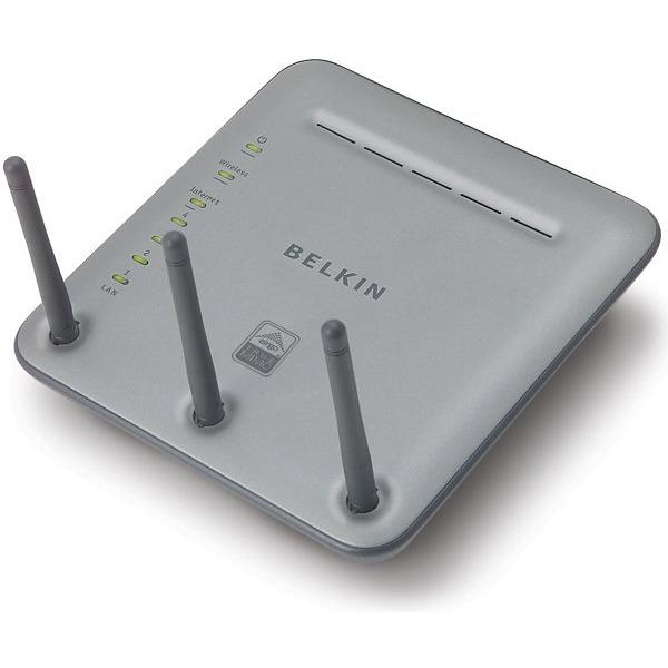 Modem & routeur Belkin Routeur Sans Fil Pre-N (garantie à vie par Belkin) Belkin Routeur Sans Fil Pre-N (garantie à vie par Belkin)