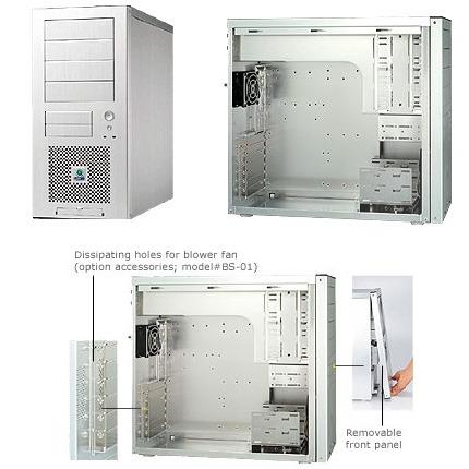 Boîtier PC Lian Li PC-7A+ Argent Lian Li PC-7A+ Argent