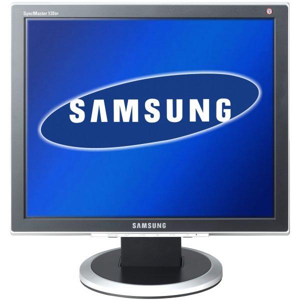 "Ecran PC Samsung SyncMaster 930BF Samsung 19"" LCD - SyncMaster 930BF - Silver/Black - 4 ms gris à gris (garantie constructeur 3 ans sur site)"