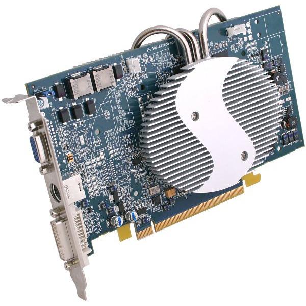 Carte graphique Sapphire Radeon X800 GTO Ultimate Sapphire Radeon X800 GTO Ultimate - 256 Mo TV-Out/DVI - PCI Express (ATI Radeon X800 GTO)