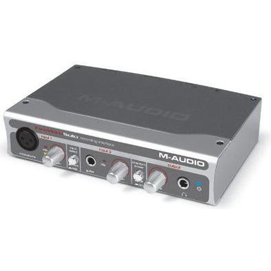 Interface Audio M-Audio FireWire Solo Interface audio FireWire portable pour compositeurs/guitaristes