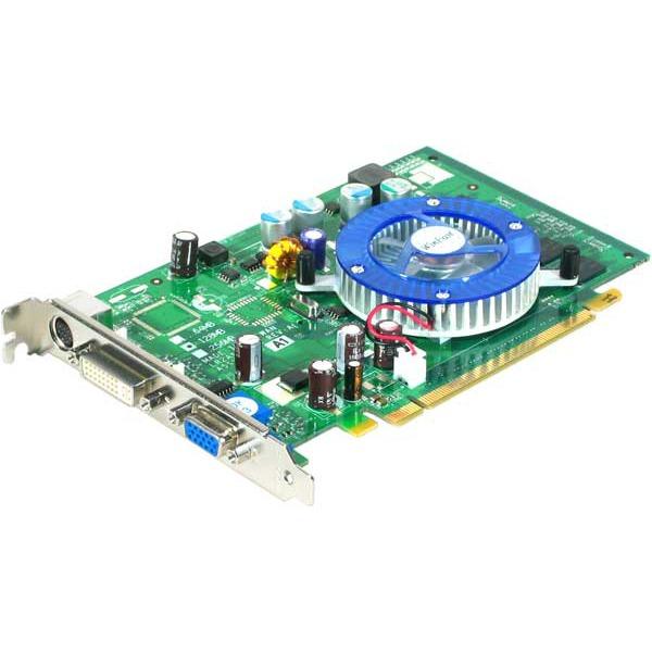 Carte graphique Leadtek WinFast PX6500TD-256L - 128 Mo - PCI Express Leadtek WinFast PX6500TD-256L - 128 Mo - PCI Express