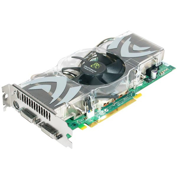 Carte graphique XFX GeForce 7800 GTX 512MB DDR3 PCI-E - 512 Mo Dual DVI/TV-Out - PCI Express (NVIDIA GeForce 7800 GTX) XFX GeForce 7800 GTX 512MB DDR3 PCI-E - 512 Mo Dual DVI/TV-Out - PCI Express (NVIDIA GeForce 7800 GTX)