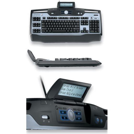 Clavier PC Logitech G15 Gaming Keyboard Logitech G15 Gaming Keyboard (AZERTY Français)