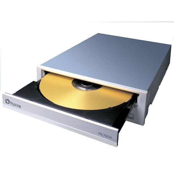 Lecteur graveur Plextor PX-760A Plextor PX-760A - DVD(+/-)RW 18/8/18/6x DL(+/-) 10/6x CD-RW 48/24/48x IDE (bulk)