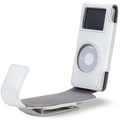 Belkin housse rabat pour ipod nano coloris blanc for Housse ipod nano