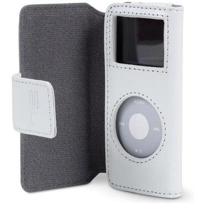 Belkin housse porte feuille pour ipod nano coloris blanc for Housse ipod nano