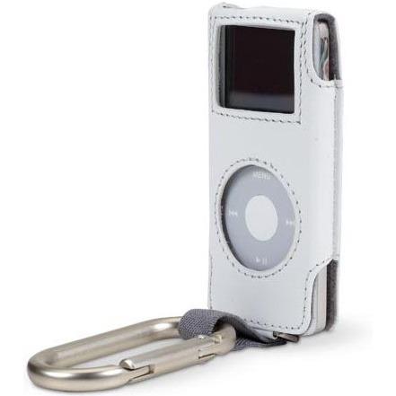 Belkin housse mousqueton pour ipod nano coloris blanc for Housse ipod nano