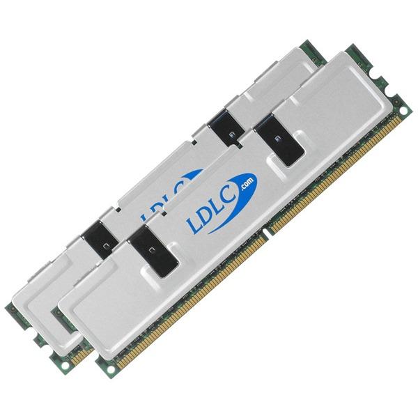 Mémoire PC LDLC Quality Select 2 Go LDLC Quality Select 2 Go (Kit Dual 2x 1 Go) DDR2-SDRAM DDR667 (garantie 10 ans)