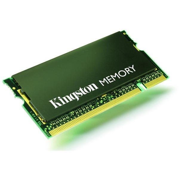 Mémoire PC portable Kingston ValueRAM SO-DIMM 1 Go DDR 333 MHz Kingston ValueRAM SO-DIMM 1 Go DDR-SDRAM PC2700 - KAC-MEMC/1G (garantie 10 ans par Kingston)