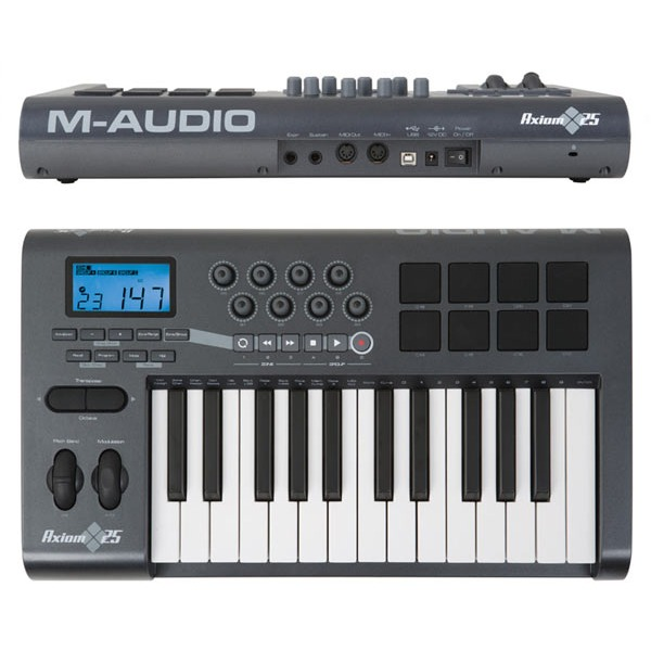 m audio axiom 25 clavier home studio m audio sur. Black Bedroom Furniture Sets. Home Design Ideas