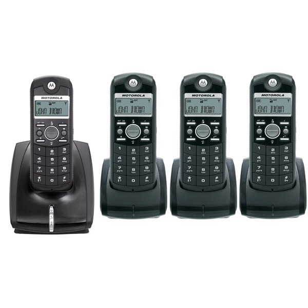 motorola me4050 4 t l phone sans fil motorola sur. Black Bedroom Furniture Sets. Home Design Ideas