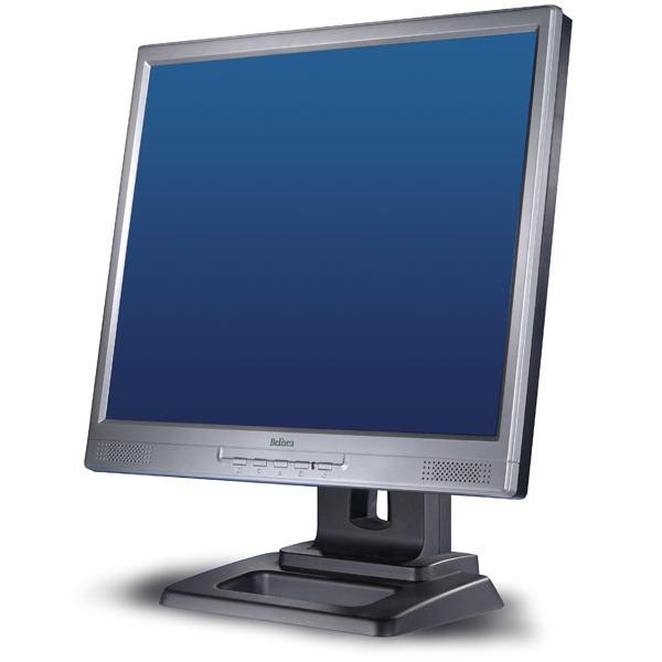"""Ecran PC Belinea 17 17 28 (11 17 53) Belinea 17"""" LCD - 17 17 28 (11 17 53) - 8 ms - Noir et Argent - Multimédia"""